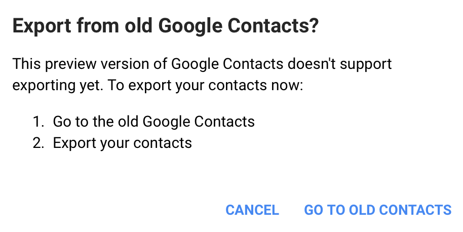 Importing Google Contacts – Postbox Support